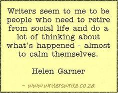 Quotable - Helen Garner