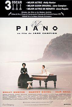 El PIANO (1993) Personajes con mucha expresión y banda original espectacular