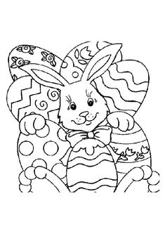 Print Coloring Image Easter PagesColoring