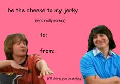 Only a select few would appreciate this for the hilarious valentine it is... IHORPWAFAS.... Hear the name and tremble, Rico, IHORPWAFAS!