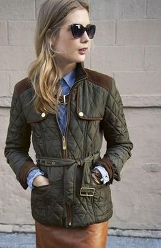A knock-out field jacket.
