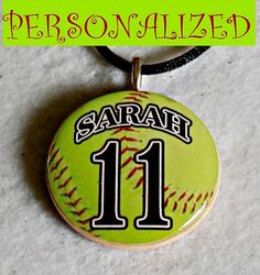 Great for Mom's and team gifts Personalized Sports Photo Pendant Necklace as by sherrollsdesigns, $10.00 Use code PINNERSJULY2012 in July for a 15% discount.