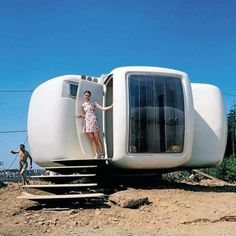 Prefab Modern Capsule Tiny Houses
