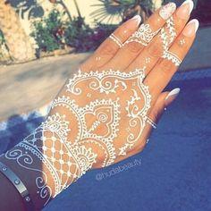 tatuajes de henna blanco - Buscar con Google