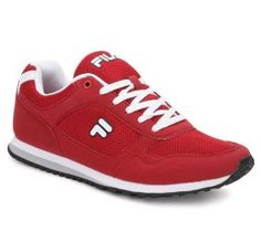 Casual Shoes Fila Bastiano Red Casual Shoes Snapdeal offers Fila red casual…