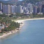 Vitória, the capital of Espírito Santo state.