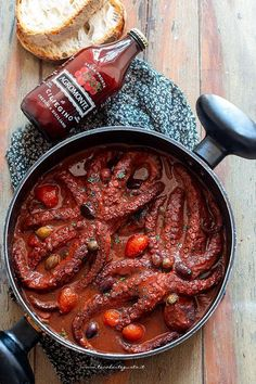 Seafood Boil, Fish And Seafood, Italian Dishes, Italian Recipes, Fish Recipes, Keto Recipes, Egyptian Food, Good Food, Yummy Food