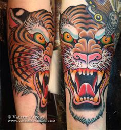 #tiger #tattoo #design #animals #art