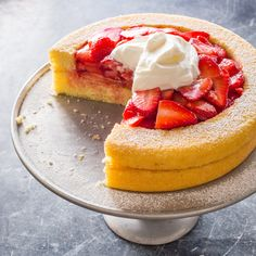 Loads of fresh berries were a given. But for a refined version of this classic dessert, the key was engineering a cake that could take the juice—and hold on to the berries.