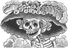 Mictecacihuatl (The Lady of the Dead)