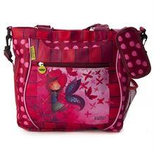Sac tout-usage Ketto - Fille papillon / Ketto's multipurpose bag - Butterfly girl *Fabriqué à 80% de bouteilles de plastique recyclées / Made of 80% of recycled plastic bottles* www.kettodesign.com