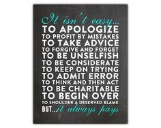 Words to live by printable wall art, inspirational printable quote. Instant download