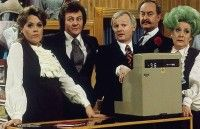 I'm now going to attempt the impossible: I'm going to write an entire article about the BBC sitcom Are You Being Served? British Sitcoms, British Comedy, British Humor, Comedy Tv, Comedy Show, Detective, English Comedy, Are You Being Served, Classic Comedies
