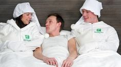 Holiday Inn offers Human Bed Warming Service