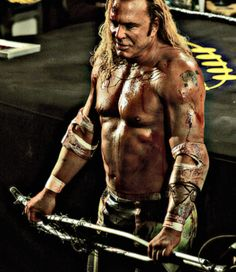 Mickey Rourke in The Wrestler, by Alessandro Mancini.