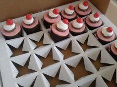 Eu Sei Disso...: Caixa para Cupcakes