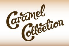 Galaxy Caramel Collection - Rob Clarke Type Design & Lettering