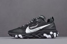 8e4c30ae7cf2 Buy Undercover X Nike React Element 87 Black White Running Shoes Discount  from Reliable Undercover X Nike React Element 87 Black White Running Shoes  ...