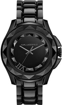 Karl Lagerfield ~ Klassic Stainless Steel Mens Watch