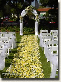 outside wedding decorations ideas | wedding aisle decorations for outdoor wedding