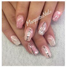 Diamond and pink diamond