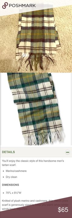 Barbour Tartan Scarf Beautiful Barbour unisex scarf. NWT. Never worn. NO TRADES Barbour Accessories Scarves & Wraps