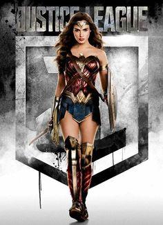 Liga da Justiça - Mulher-Maravilha ganha destaque em nova imagem promocional! - Legião dos Heróis
