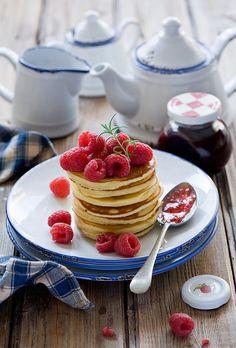 pancakes with jam s
