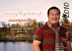 Custom Photo Graduation Announcement or Invitation