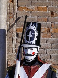 The Soldier. Venice Carnival 2014 by Lesley McGibbon