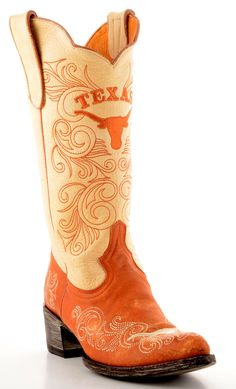 Womens University Of Texas Boots
