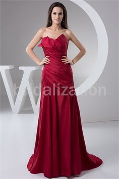Date Dresses Brush/ Sweep Train Taffeta Mother of the Bride Dresses