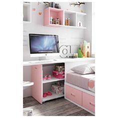 Study Room Design, Room Design Bedroom, Kids Room Design, Small Room Bedroom, Bed Design, Bedroom Decor, Teen Room Designs, Small Bedroom Furniture, Childrens Room Decor