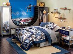 Hace un tiempo mostramos diferentes maneras para decorar dormitorios juveniles pequeños, hoy te traemos diferentes formas en que puedes decorar especialmente para chicos varones adolescentes. Los c…
