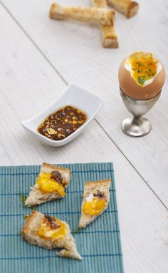 Flavorful Anchovy Soft Boiled Egg Soldiers - I Quick Food Soft Boiled Eggs, Quick Meals, Cooking Recipes, Soldiers, Food, Fast Meals, Fast Foods, Chef Recipes, Essen