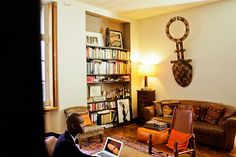 Alpha Sidibe's chic Paris apartment