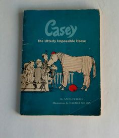 Casey The Utterly Impossible Horse Vintage 1960 by FlatRockGoods