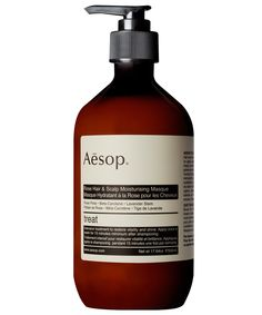 Rose Hair and Scalp Moisturising Masque 500ml, Aesop. Shop more beauty from the Aesop collection online at Liberty.co.uk