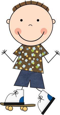 bon Art Drawings For Kids, Doodle Drawings, Drawing For Kids, Doodle Art, Easy Drawings, Art For Kids, Cartoon Kids, Cute Cartoon, Clipart