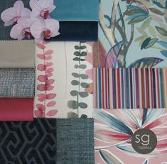 Tropical, Design Inspiration, Colours, Texture, Fabric, Decor, Surface Finish, Tejido, Tela