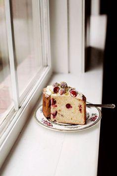 Tara O'Brady's Cranberry Ginger Cake