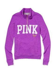 Half-zip Pullover - Victoria's Secret Pink® - Victoria's Secret