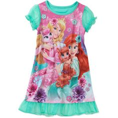 Disney Baby Girls' Princess & Pals Nite Gown