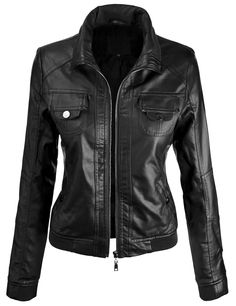 Lock and Love Women's Everyday Bomber Jacket at Amazon Women's Coats Shop
