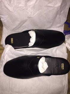 Leather slippers at Grailed   Men's Designer & Streetwear Bedroom Slippers, Leather Slippers, Designer Streetwear, Street Wear, Gucci, Clothes, Shopping, Shoes, Fashion
