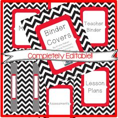 Binder covers {EDITABLE!} so you can type what you want to be on your covers! $