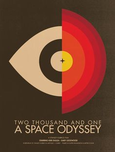 2001: A Space Odyssey Movie Poster - Movie Posters - Brandon Schaefer - Richard Goodall Gallery Limited Edition Rock Music Posters Urban Vin...
