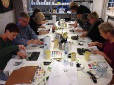 Casa & Co Chalk Paint, Workshop, Painting, Atelier, Work Shop Garage, Painting Art, Paintings, Painted Canvas, Drawings