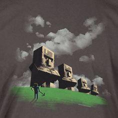 J!NX : Minecraft Statues T-Shirt