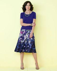 Vivid Bloom Skirt